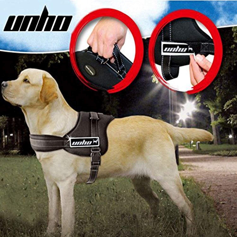 Unho Dog Body Harness Padded Extra Big Large Medium Small Heavy