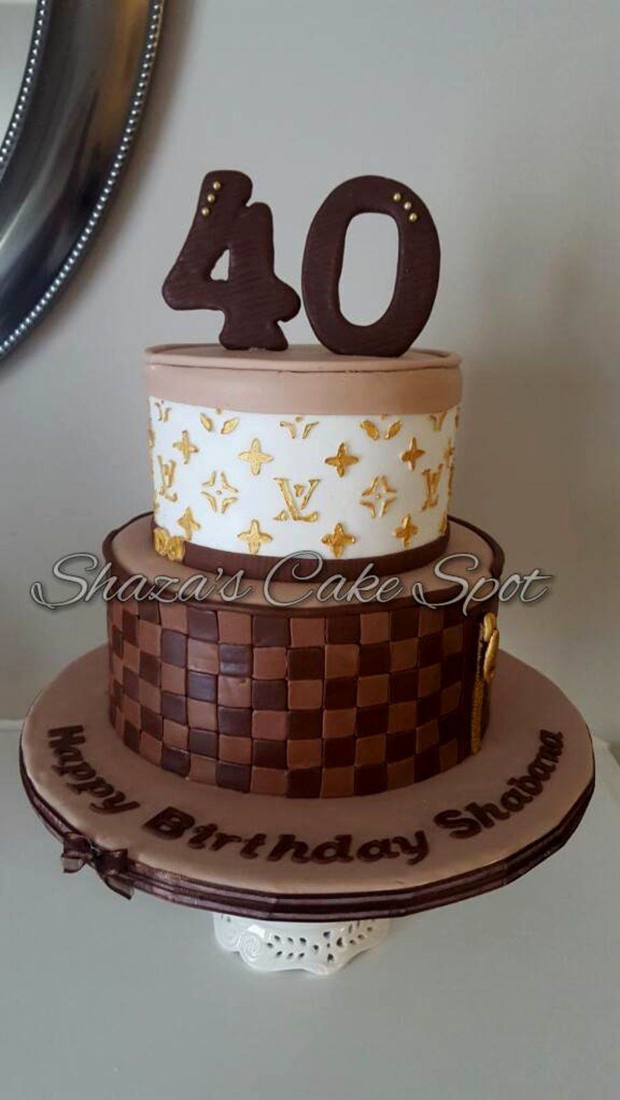 louis vuitton birthday cake 2 Cake Birthday Birthdays