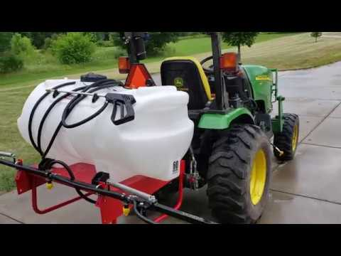 561 Fimco 60 Gallon Pto Sprayer Installation Youtube In 2020 Sprayers Gallon Tractor Supplies