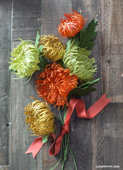 51 DIY Paper Flower Tutorials You Can Make - Big DIY Ideas
