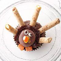 Turkey Tom Cupcakes