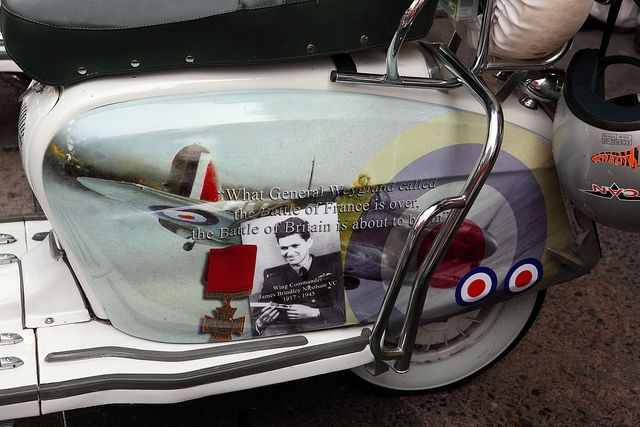 Lambretta Scooter custom paint