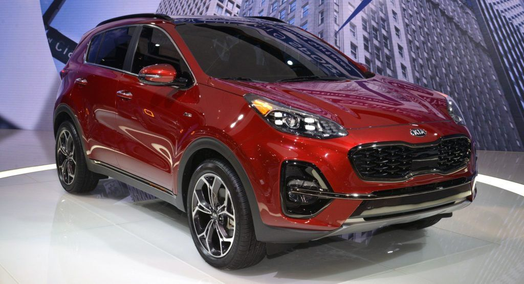 2020 Kia Sportage Gets A Light Makeover New S Trim And Safety Kit Kia Sportage Sportage Kia