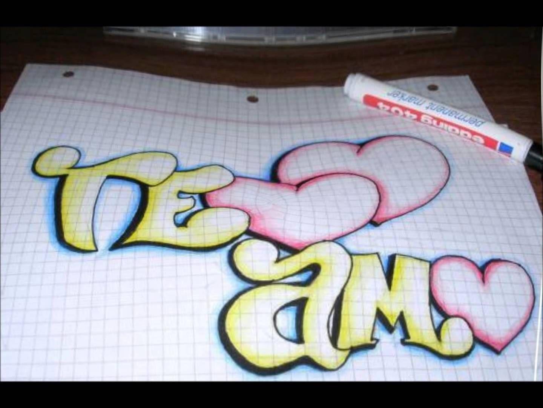 Resultado De Imagen Para Janeth Graffiti Dibujos De Amor