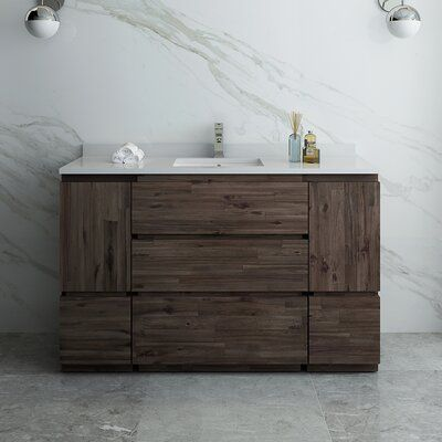 Photo of Fresca Formosa Floor Standing 53″ Single Bathroom Vanity Base Only