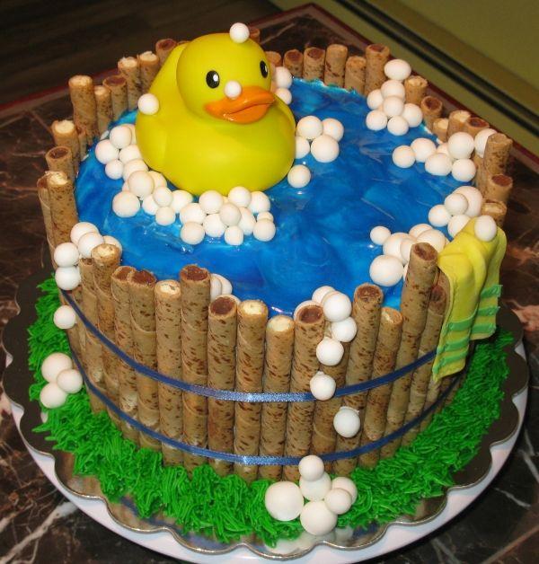 Rubber Ducky Cake