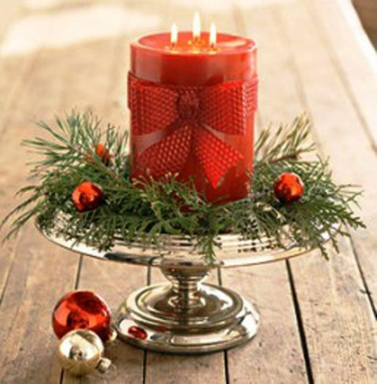 Top Christmas Candle Decorations Ideas Candle decorations - christmas decorating ideas
