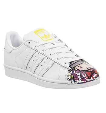 Adidas Superstar 1 Mr Fashion Blanco Unisex Mono Cartoon Shell Toe Unisex Blanco 7229bc