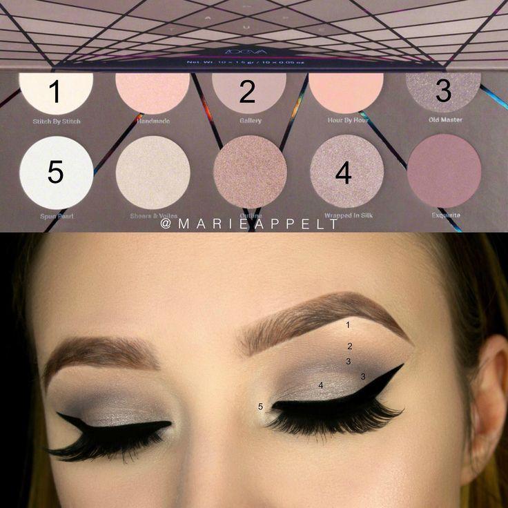 Photo of Zoeva En Taupe Palette Make-up Schauen Sie, Make-up-Ideen, Tutorial, Taupe Make-up, Schritt b … – Spitze