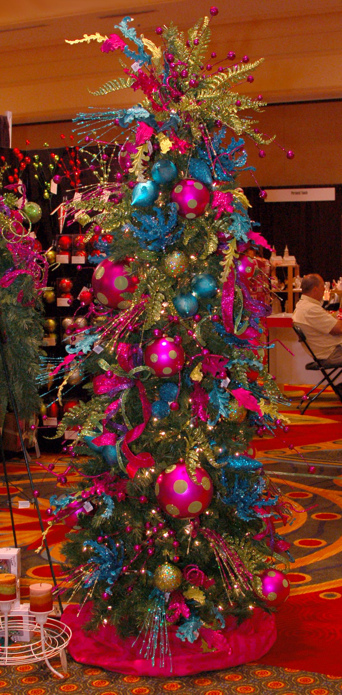 Colorful Christmas Tree Decorations Ideas Pink Christmas Tree Gold Christmas Tree Christmas Decorations