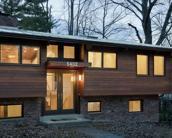 Split Level With Rainscreen Siding. Exterior Design Ideas, Pictures,  Remodel, And Decor