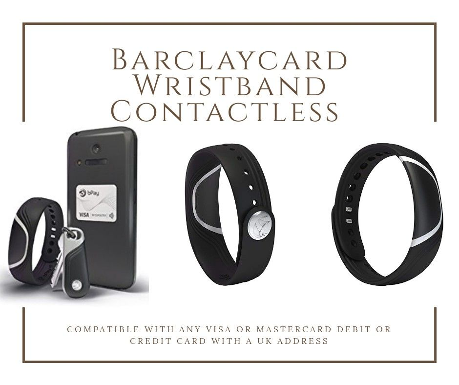 BPay By Barclaycard Wristband Contactless Payment Device