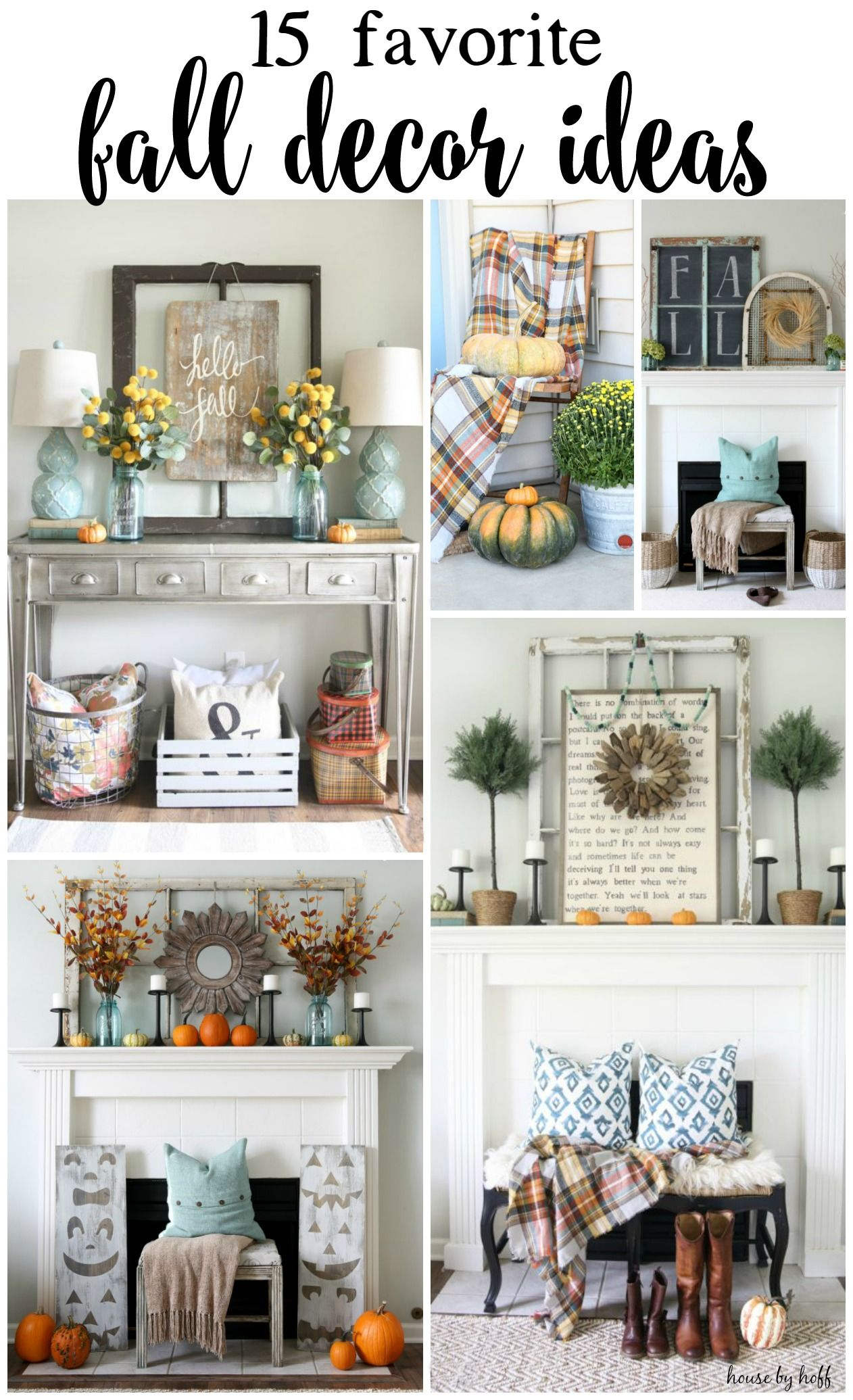 Photo of 15 Favorite Fall Decor Ideas – House by Hoff