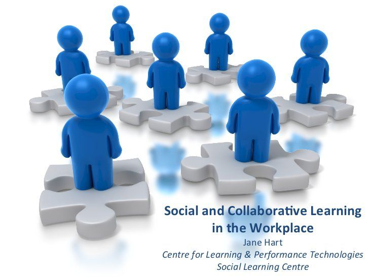 Social Collaborative Learning In The Workplace By Jane Hart Via Slideshare Collaborative Learning Learning Technology Human Resources