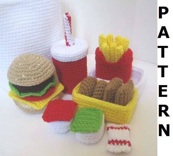 Freecrochetplayfoodpatterns Freethe Best Crochet Pattern To