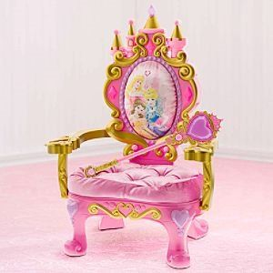 Magical Talking Disney Princess Throne Kids Decorating Ideas