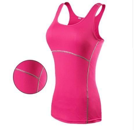 Yoga Sports Vest Fitness Enges ärmelloses Trägershirt - #armelloses #enges #fitness #Sports #tragers...