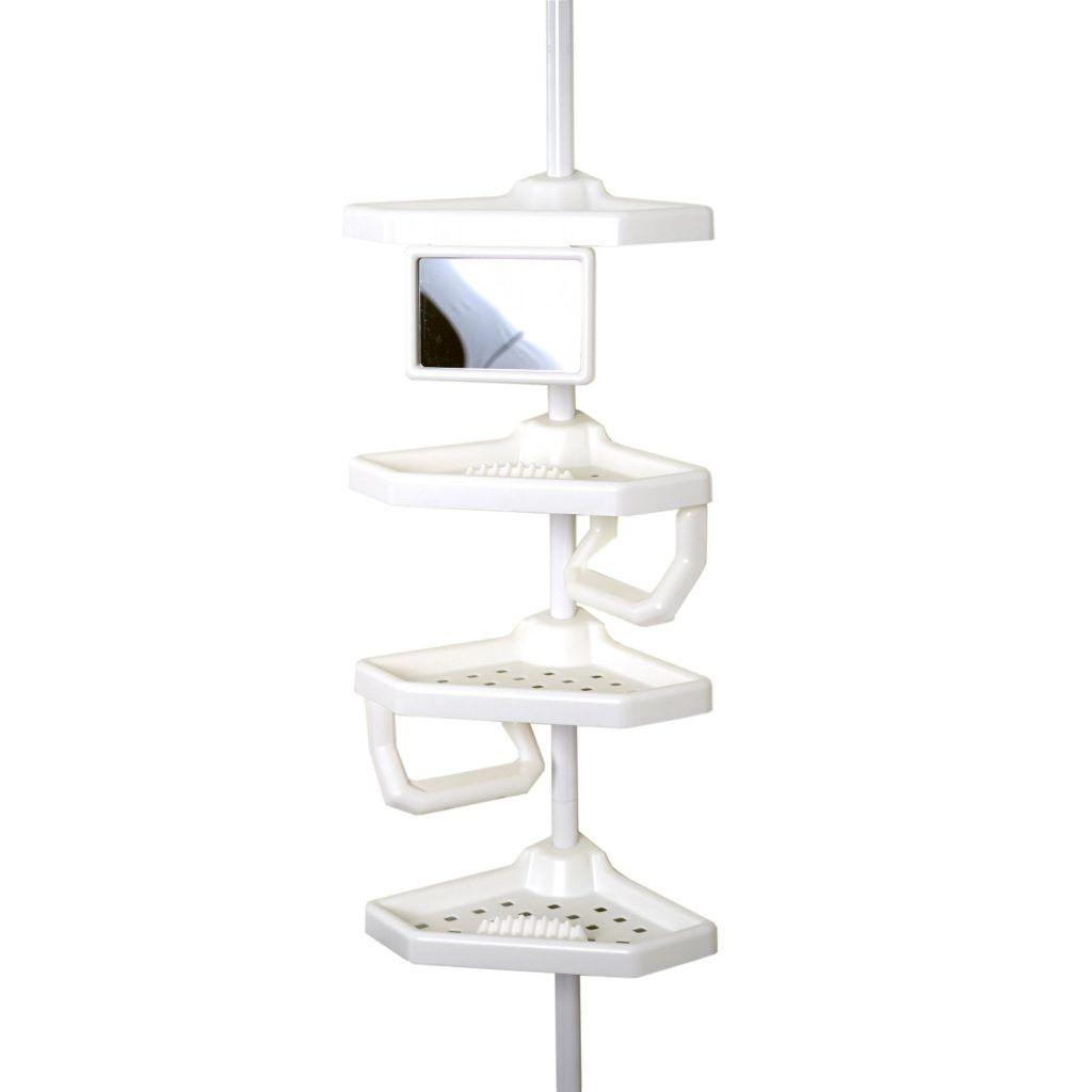 Floor To Ceiling Corner Shower Caddy | Bathroom Utensils | Pinterest ...