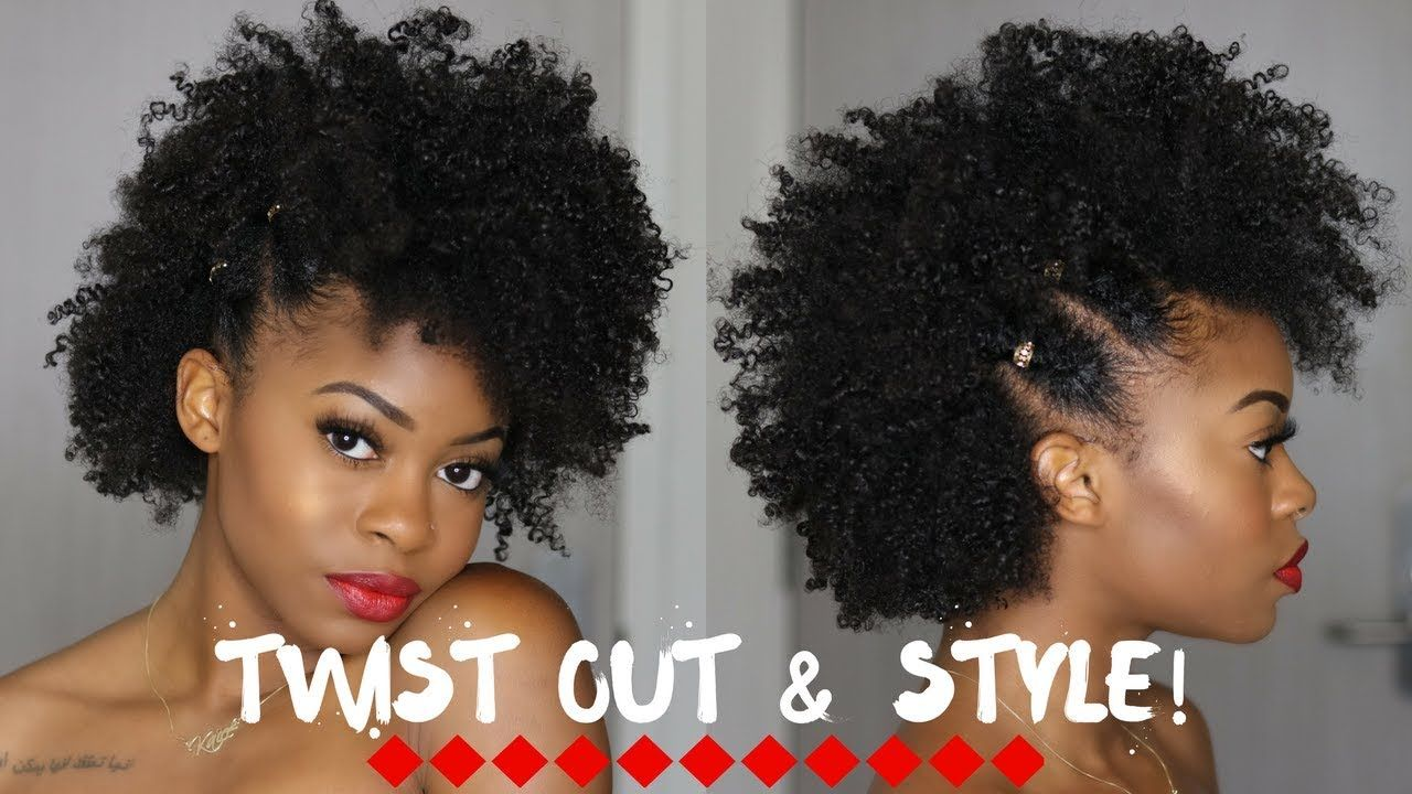 Twist Out Mini Style Full Tutorial Tips For Achieving Your Best Twist Out Video Https Blackhairinforma Twist Outs Natural Hair Styles Kids Hairstyles