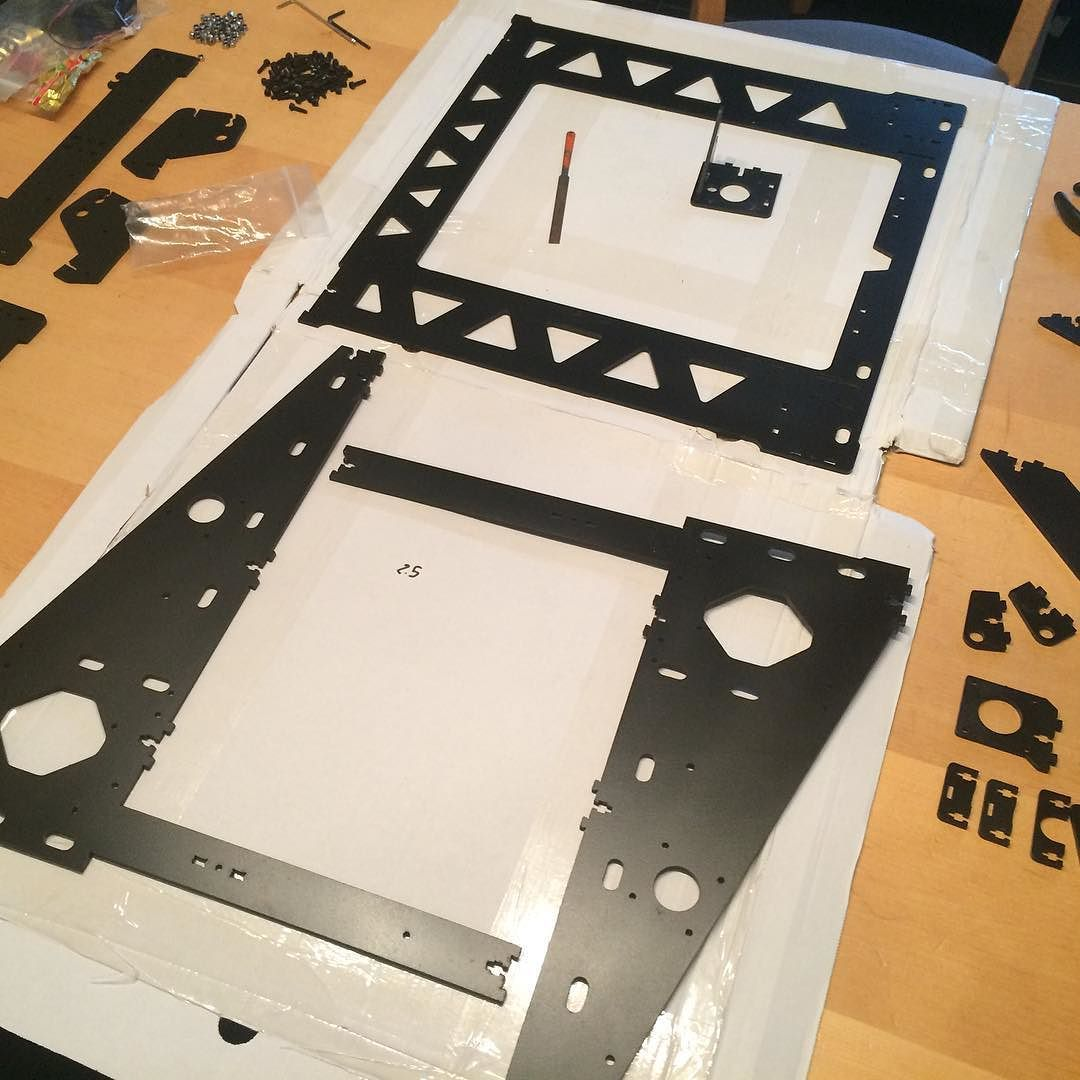 We are going to turn our prusa i3 into a P3Steel 2.5. We just ...