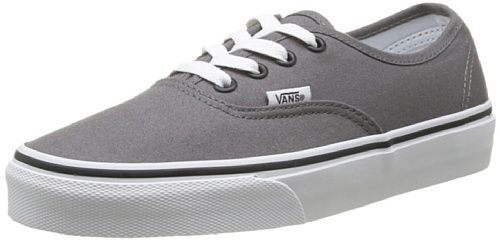 Vans Men's VANS AUTHENTIC SKATE SHOES 12 (PEWTER/BLACK)
