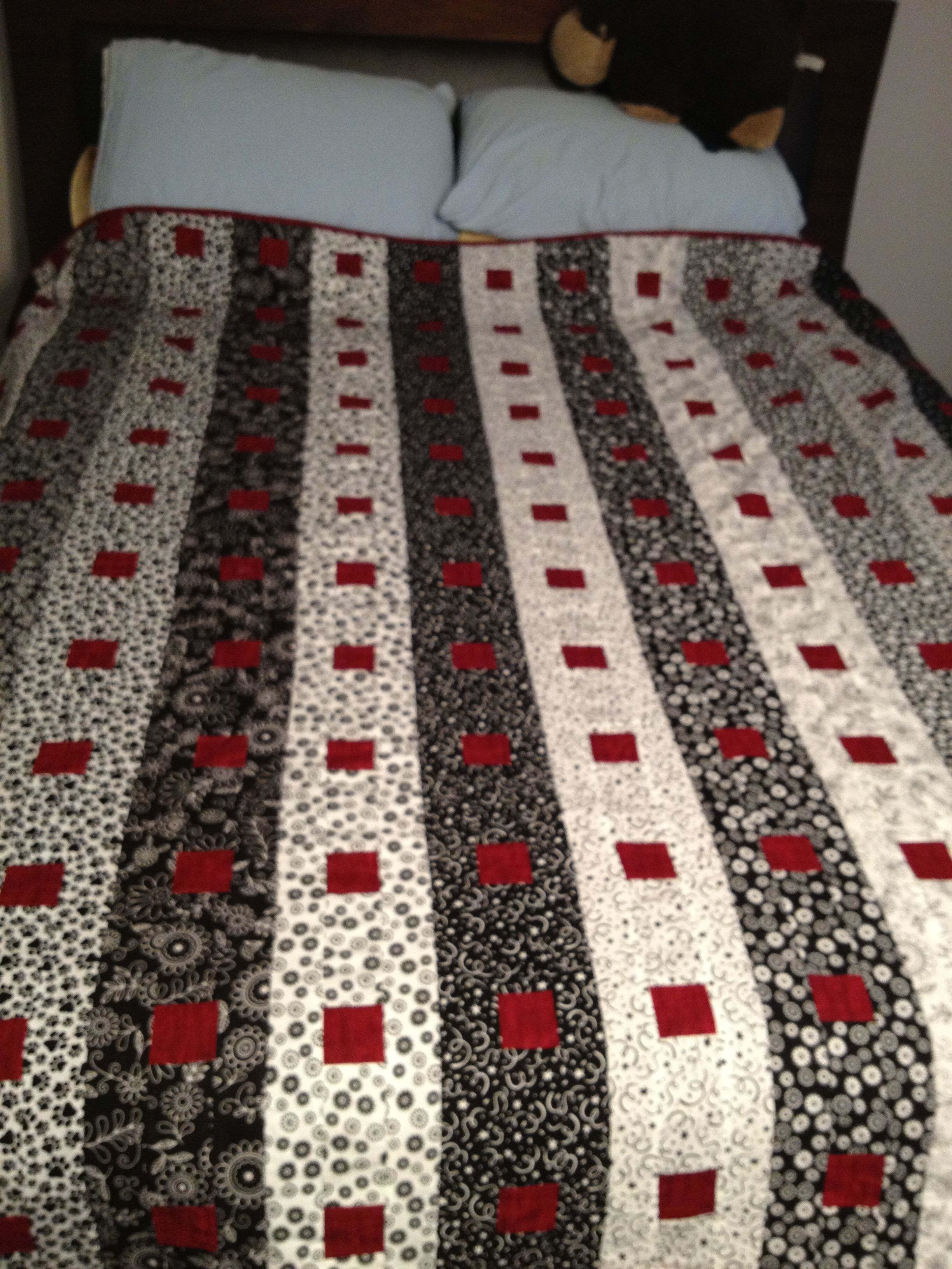 Carolyn - Column quilt - FINALLY DONE!