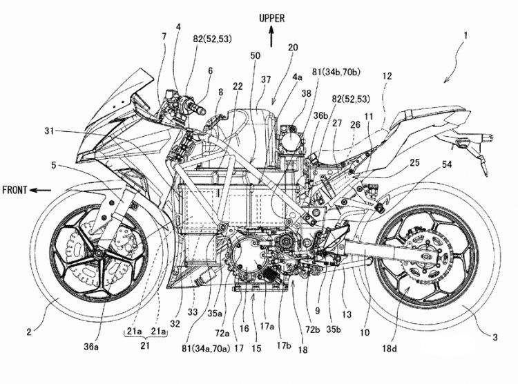 Is This A Patent For A Battery Powered Kawasaki Ninja