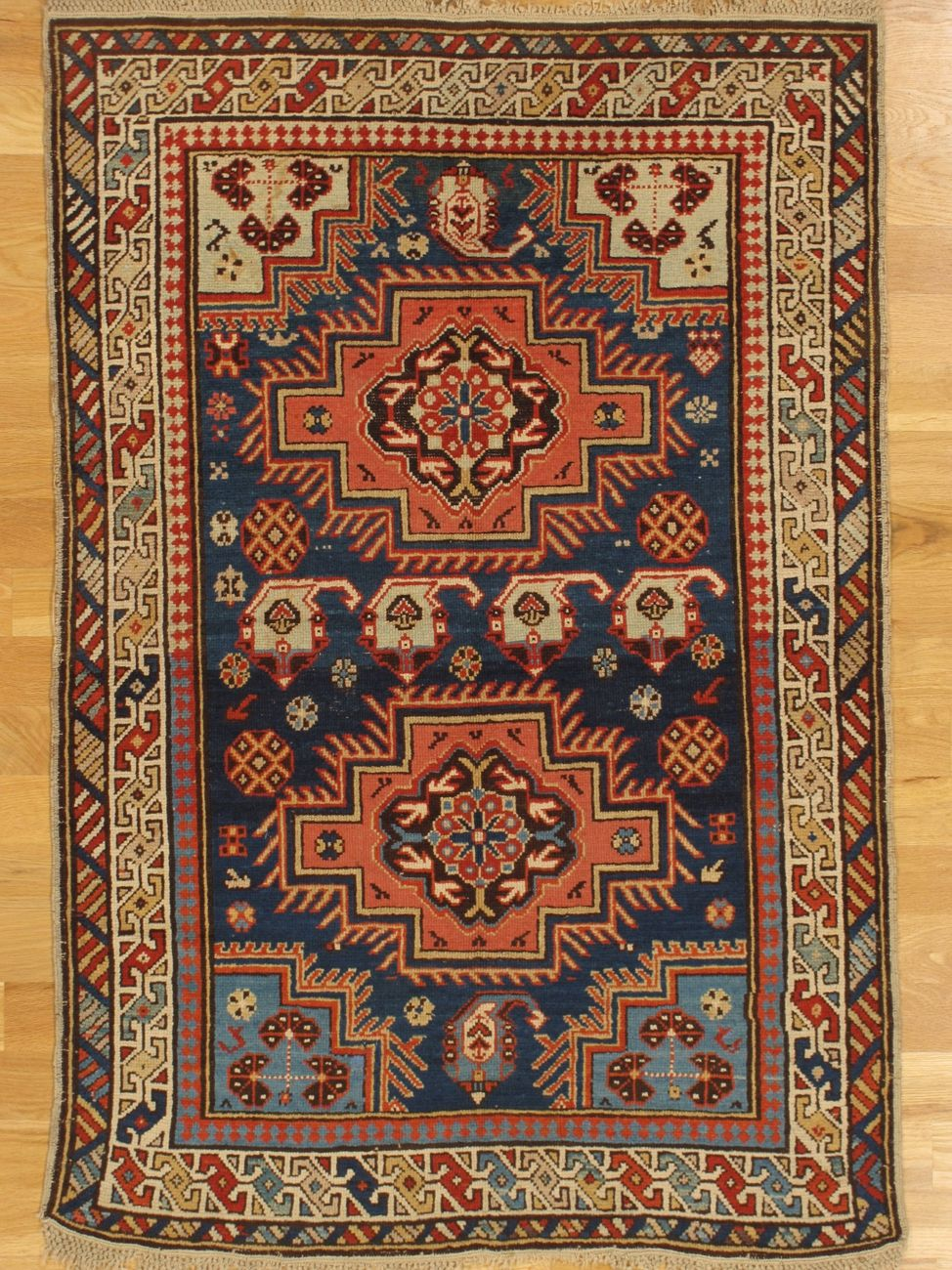 Derbent Rug From Eastern Caucasus Age Circa 1890 Size 4 11 X3 5 150x104 Cm Sold Rugs Rugs On Carpet Antique Textiles