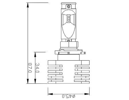 Upgrade 9005 Hb3 25w Brightest Led Headlights Bulb Conversion Kit Headlight Bulbs Led Headlights Bulb