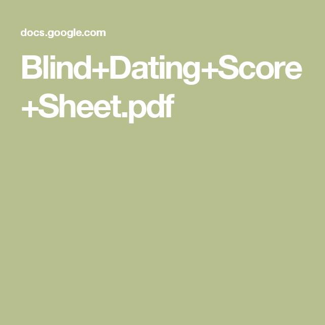 speed dating books pdf