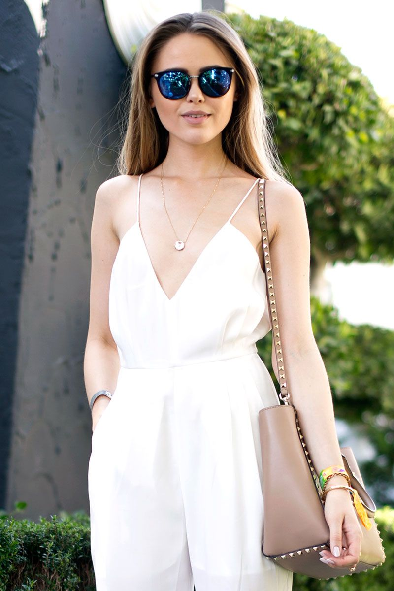 Shop the Look: Skip the Jacket - Get Miroslava Duma's Street Style Look - Harper's BAZAAR Magazine