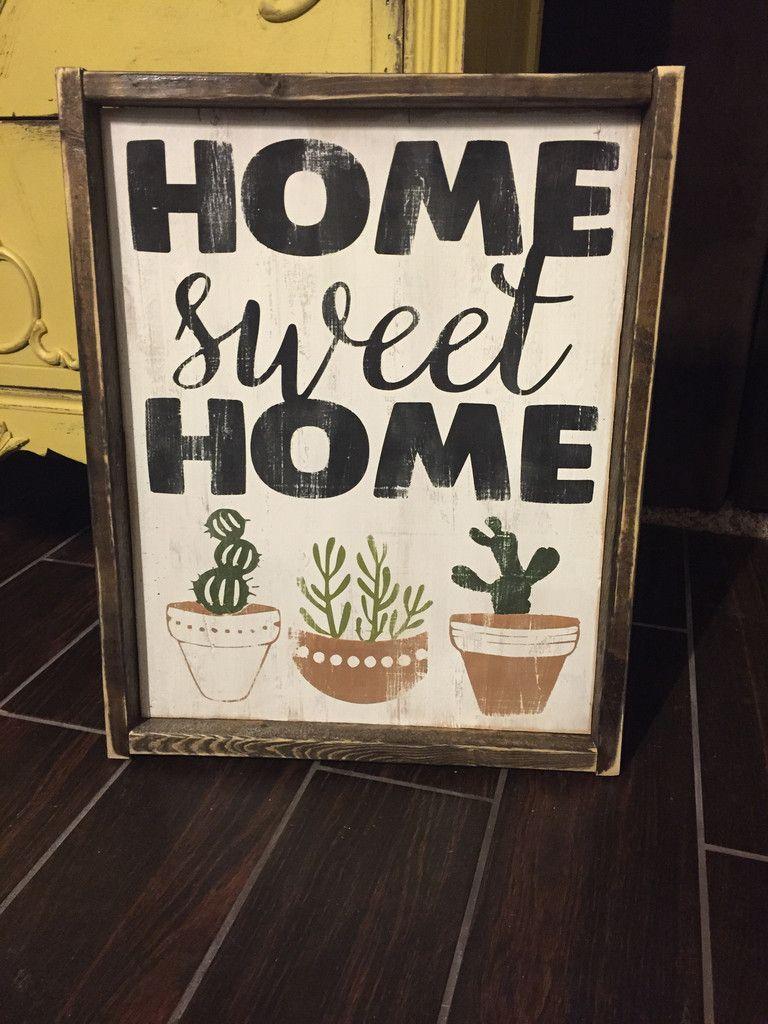 Home Sweet Home - Cactus