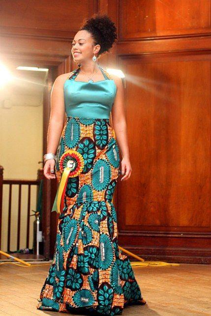 pingl par brandy mouanga sur bm african pinterest robe de soir e africaine chic robes de. Black Bedroom Furniture Sets. Home Design Ideas