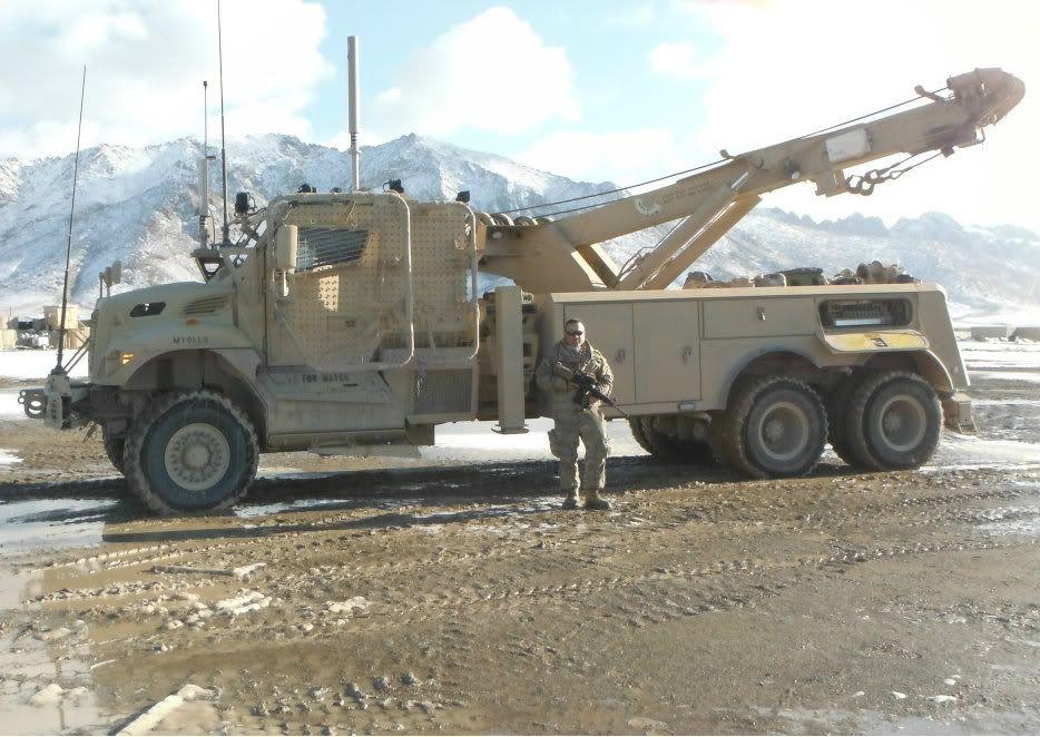 International Army Rotator In AFGHANISTAN Tow Trucks