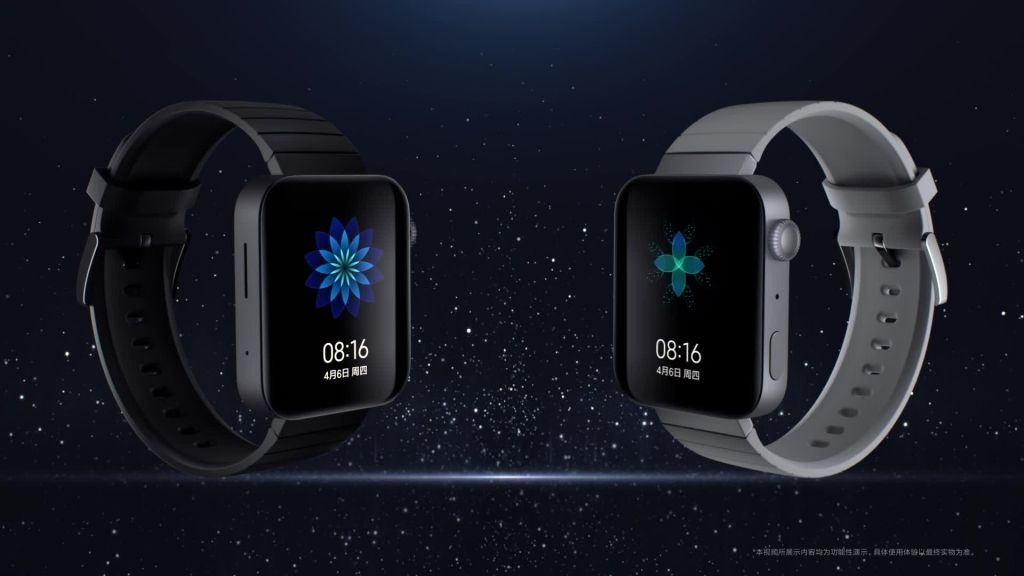 Xiaomi Mi Watch مميزات وسعر ساعة شاومي بتصميم يشبه ابل ووتش صدى التقنية Smart Watch Samsung Gear Watch Samsung Gear Fit