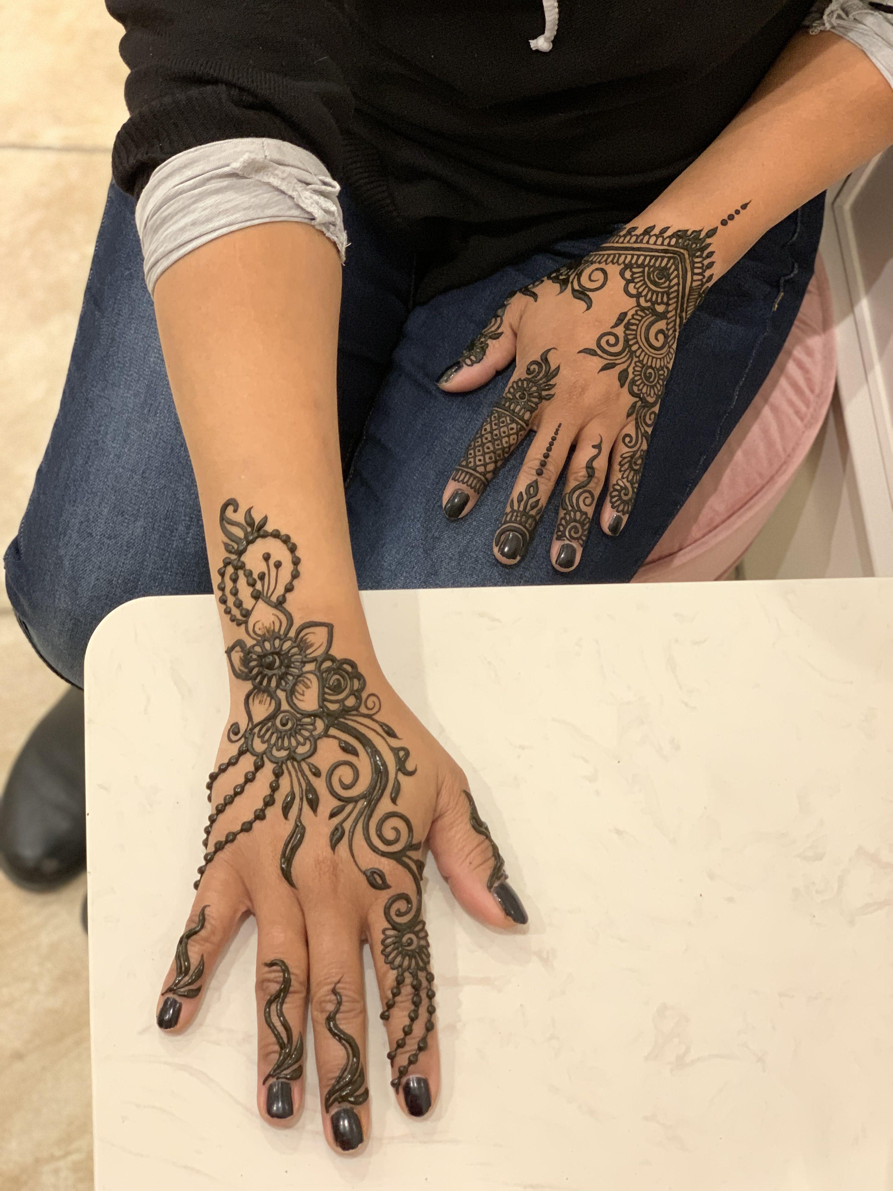Gorgeous Hand Henna Hand Design In 2020 Henna Tattoo Kit Henna Designs Hand Henna Kit