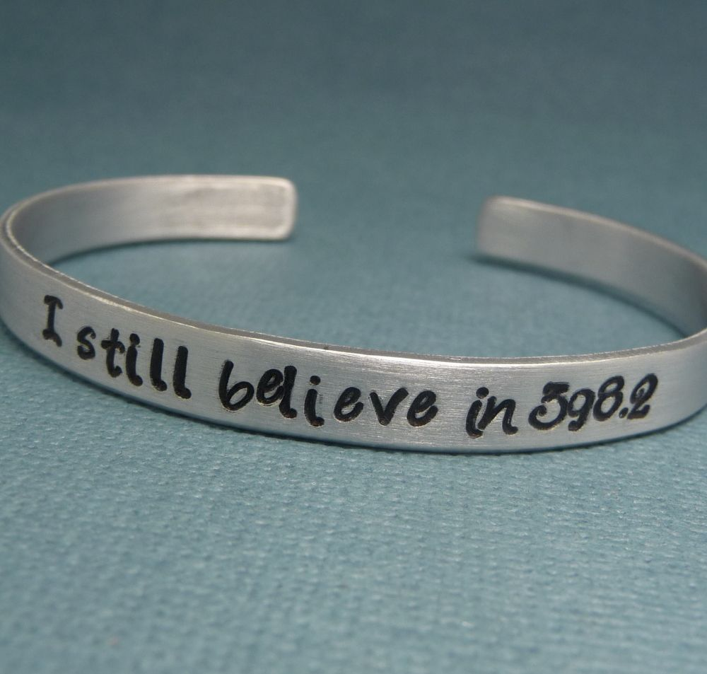 I Still Believe In 398.2 Bracelet