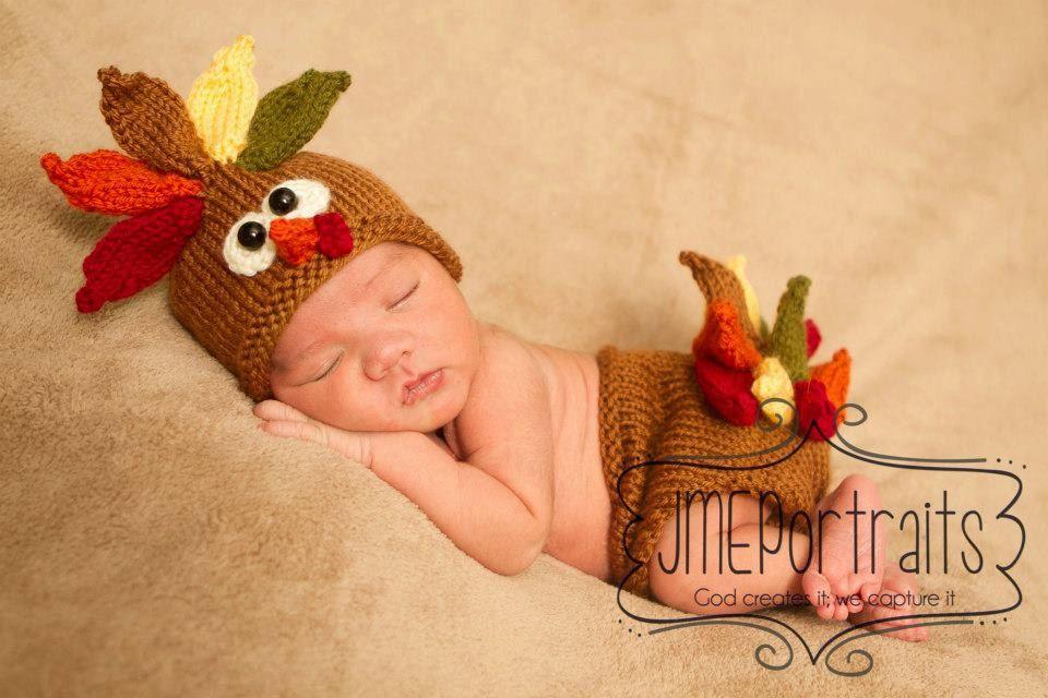 Thanksgiving newborn