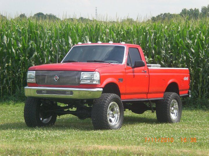 Except For The Cab Lights And Grill This Is Pretty Much My Old F250