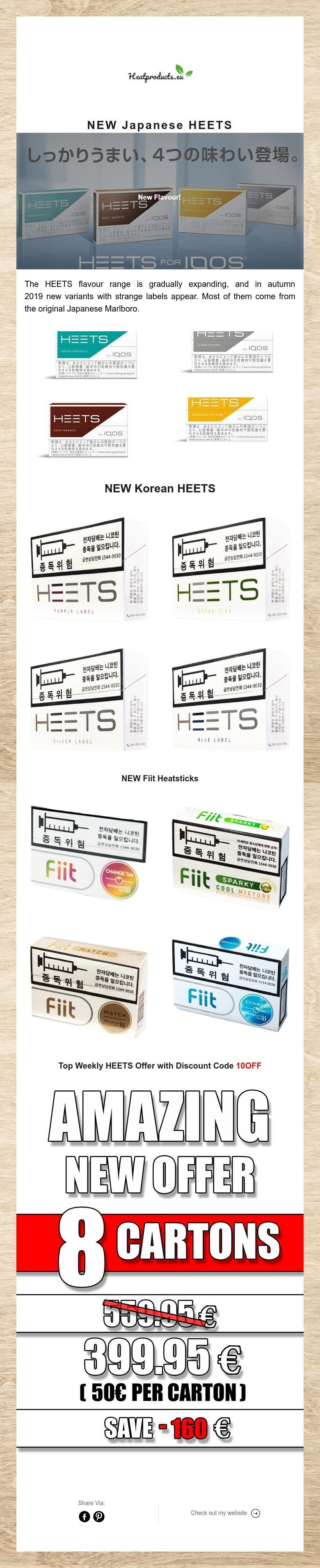 NEW Japanese #iqos #heets #iqos3 flavors at www heatproducts