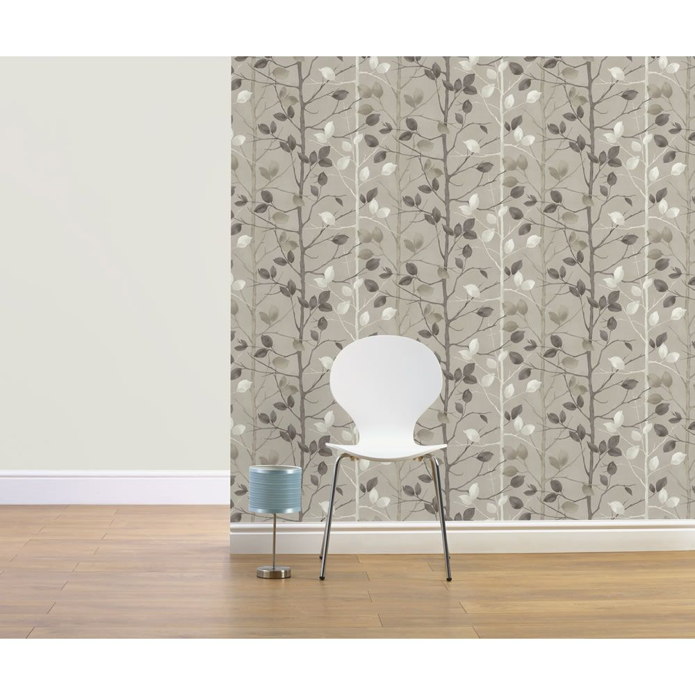 Arthouse Woodland Taupe Wallpaper 630702 Home Art Home D