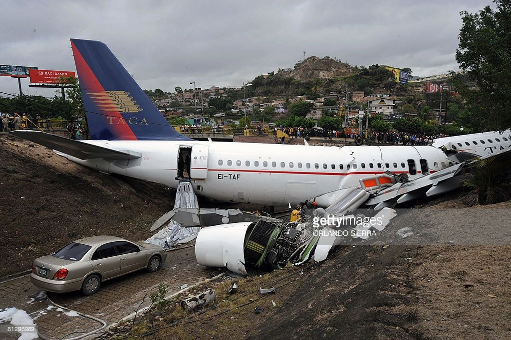 TACA`S AIRBUS A320 CRASHED IN TEGUCIGLAPA