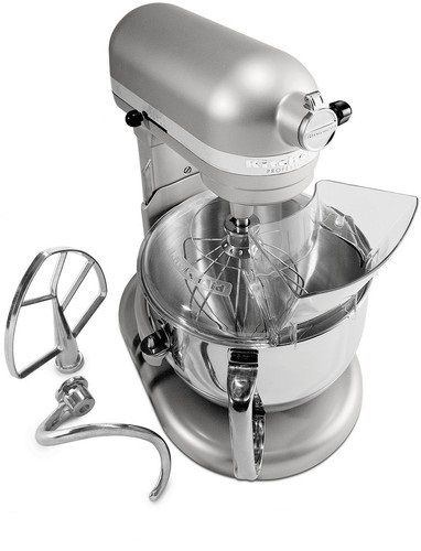 Kitchenaid R Kp26m1xnp Pro 600 Stand Mixer 6 Qt Nickel