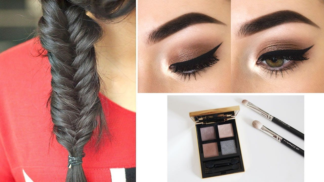 Makeup Hairstyles Easyhairstyles Makeup Hairstyle Everydaymakeup Makeup Hairstyle Easy Hairstyles Everyday Makeup Tutorials Simple Hairstyle For Saree
