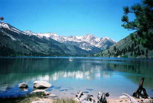 Upper Twin Lakes, above Bridgeport, California