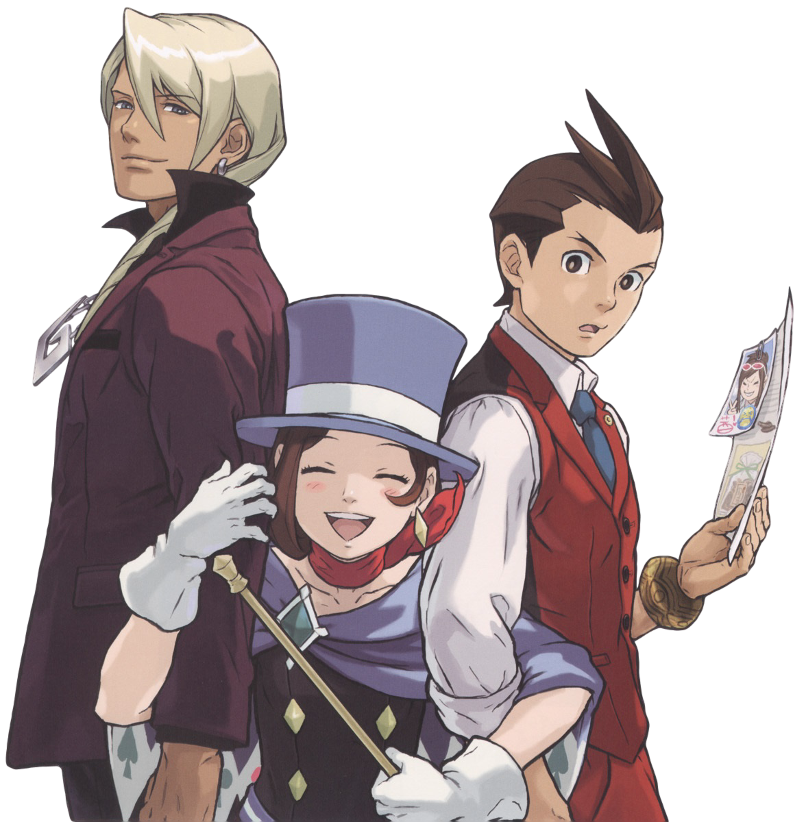 The Transparent Turnabout Ace, Zelda characters