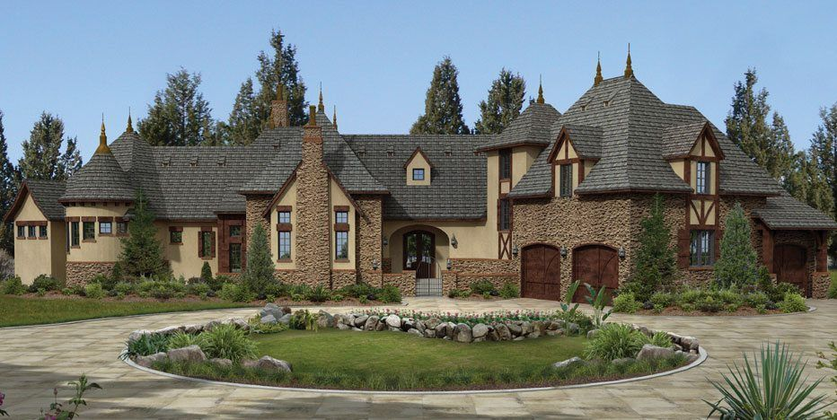 Ordinary Old World Style House Plans #2: Luxury Old World Home Plans - House Plans 2017