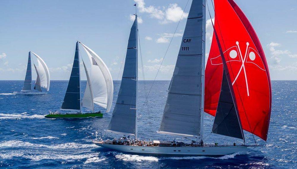 Caribbean superyacht regatta sailing regatta sailing