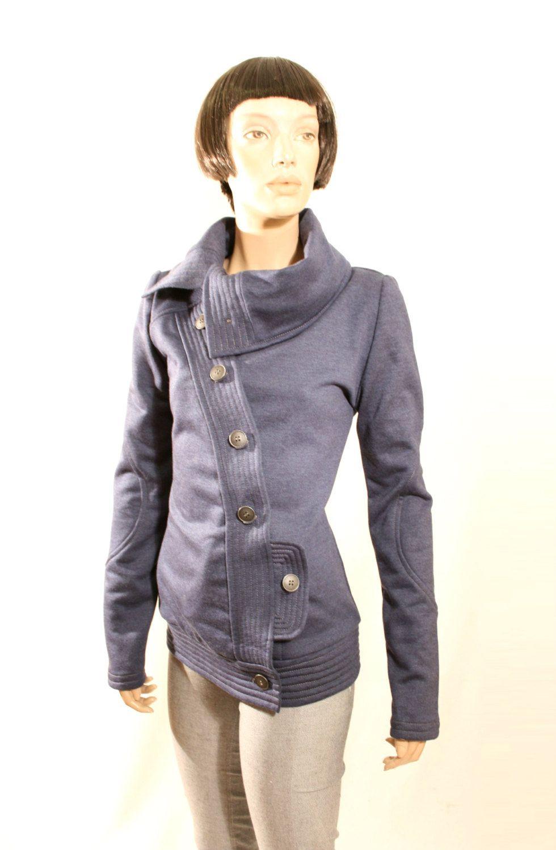 On Sale Blue Jacket Tailored Sweatshirt Jacket Sports Etsy Trendy Sweatshirt Sweatshirt Jacket Sweatshirt Refashion [ 1500 x 980 Pixel ]