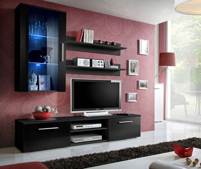 Carlisle 7 Meuble De Television Modern Tv Wall Units Living